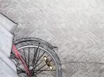 velocipede half wheel pencil