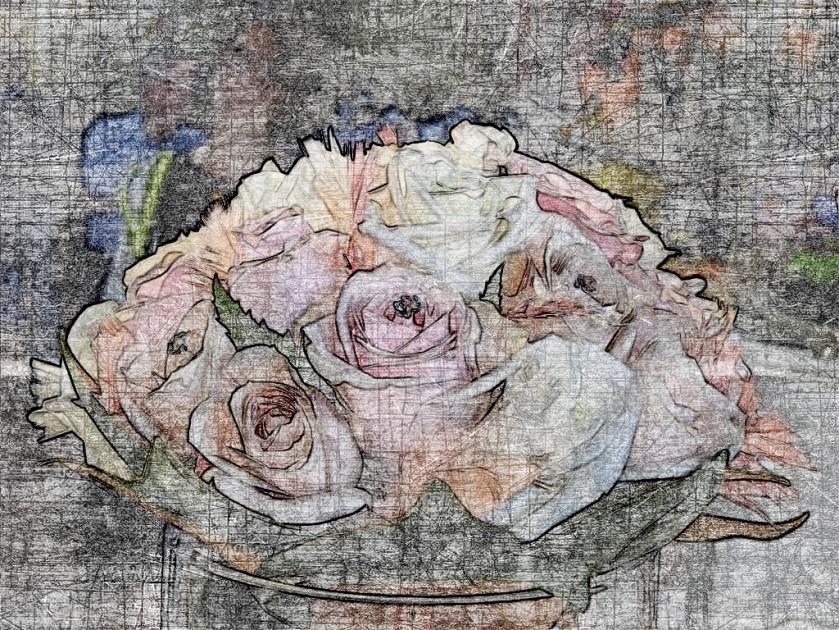 Posy roses
