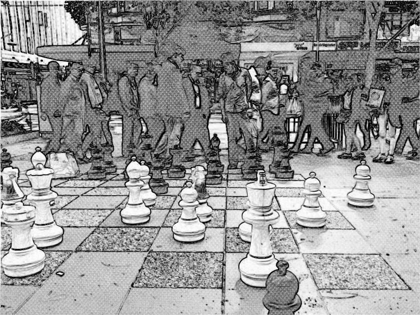 city chess mono