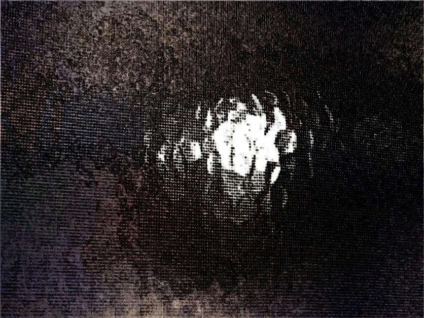 The dark light. SketchCamera.