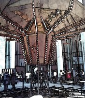 carousel floor