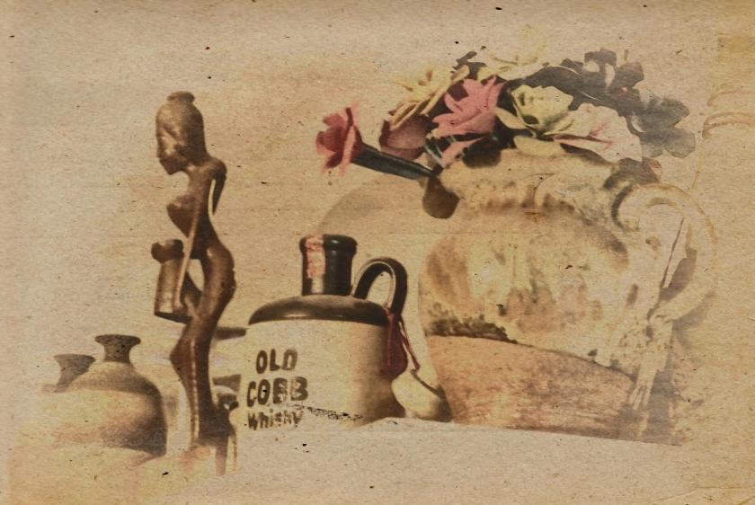 Oldf Cobb Whisky. PicSketch.