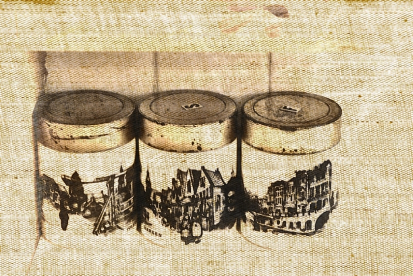 Canisters. PicSketch. Two more versions.