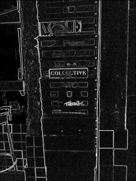 The rack. SketchCamera.