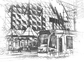 RMIT tram mono