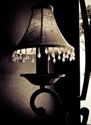 lampshade mono photo
