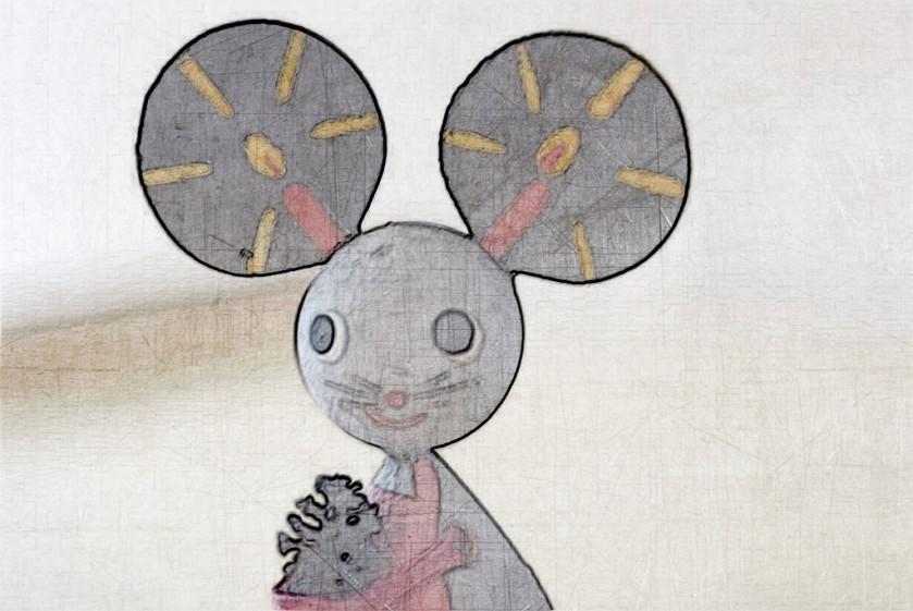 Mouse herald. SketchCamera.
