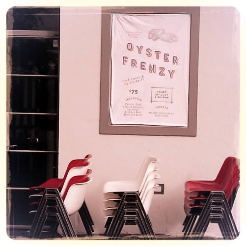 oyster frenzy photo