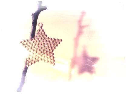 The star and its shadow. PicSketch. Two views.