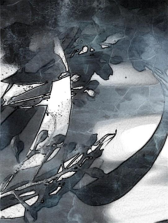 SketchCamera. Marble effect.