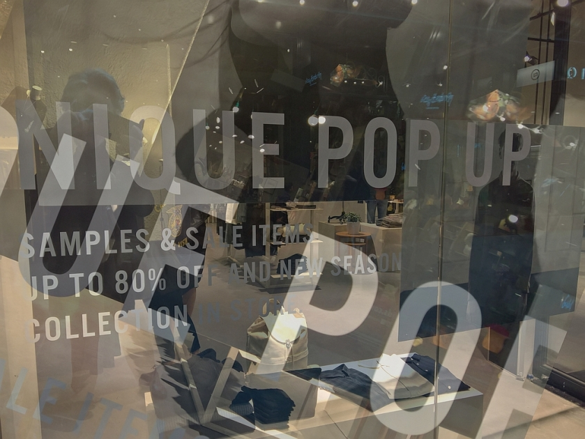 Nique Pop Up store. Blendifier.