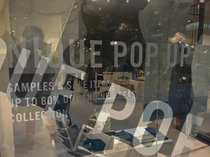 Nique Pop Up store. Blendifier.